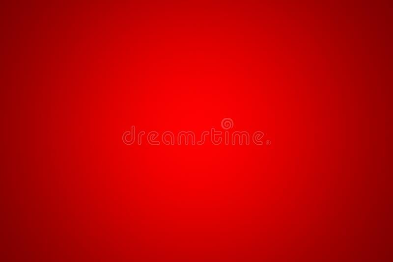 Fundo vermelho abstrato com vinheta, ilustração 3d vazio ilustração stock