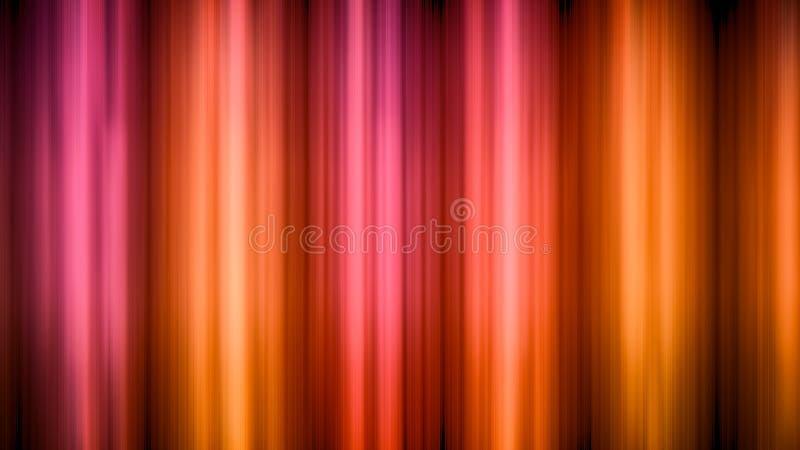 Fundo vermelho abstrato da luz do movimento ilustração royalty free