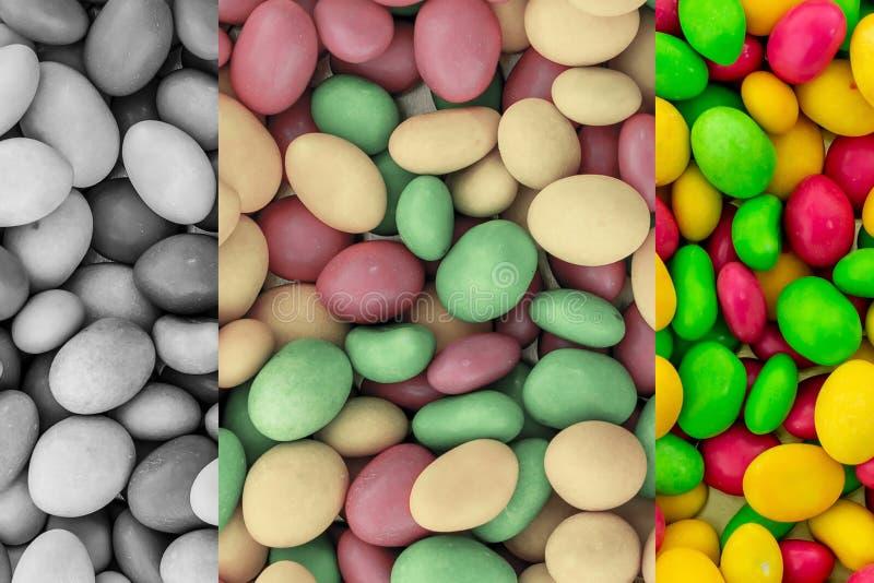 Fundo vermelho amarelo vitrificado matizado teste padrão do verde dos doces do inclinação painel colorido cinzento imagem de stock royalty free