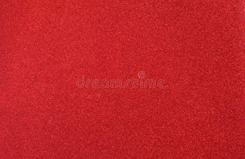 Fundo vermelho brilhante Ano novo Aniversário imagens de stock