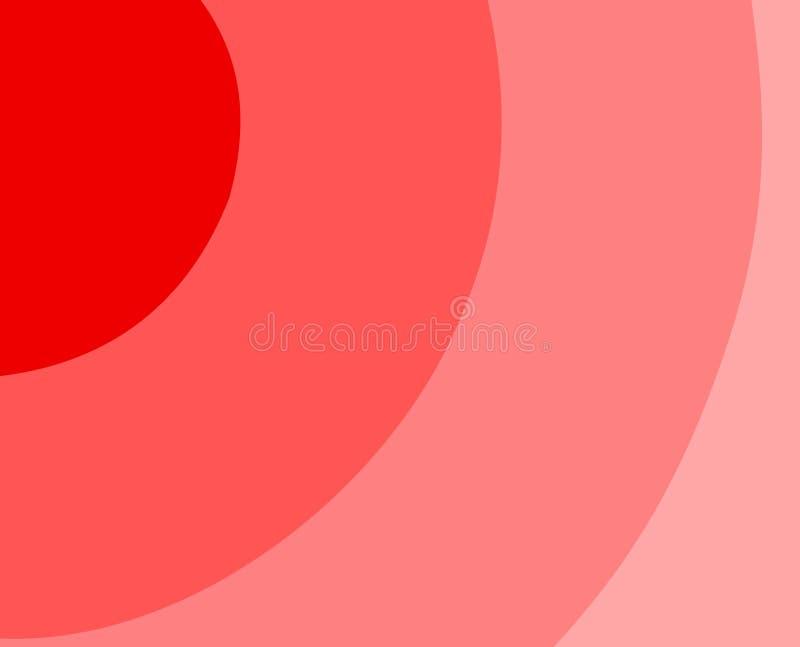 Download Fundo vermelho com espiral ilustração do vetor. Ilustração de motif - 12807350