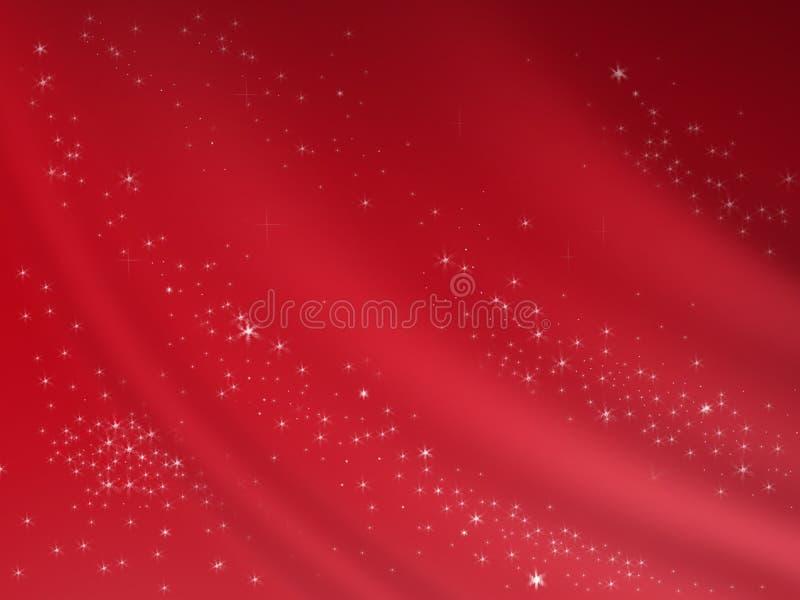 Fundo vermelho com sombras ilustração do vetor