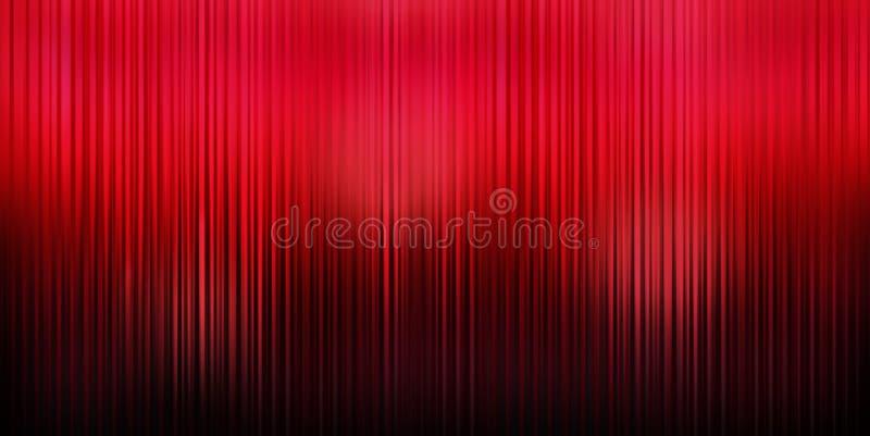 Fundo vermelho da cortina foto de stock