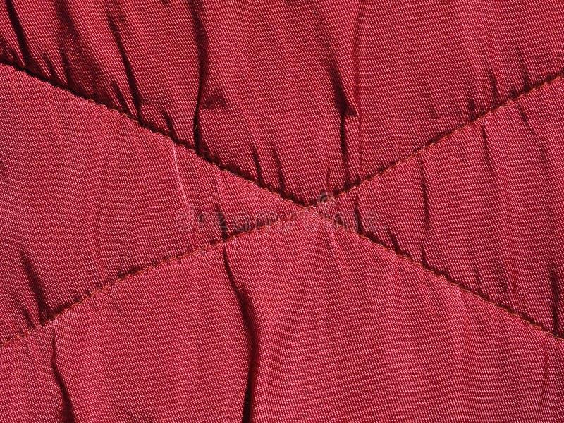 fundo vermelho da textura da tela de veludo imagens de stock