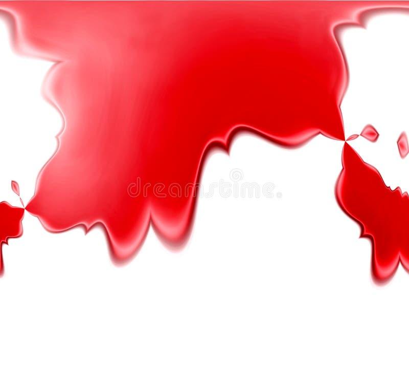 Fundo vermelho do derramamento ilustração stock