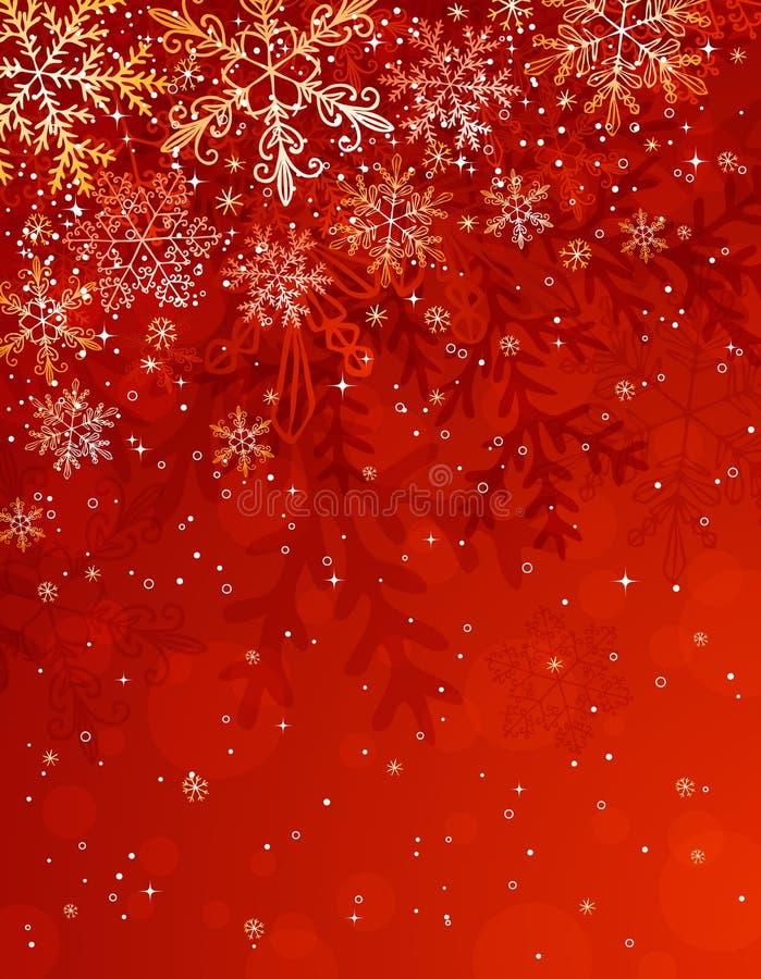 Download Fundo vermelho do Natal, ilustração do vetor. Ilustração de celebration - 16868186