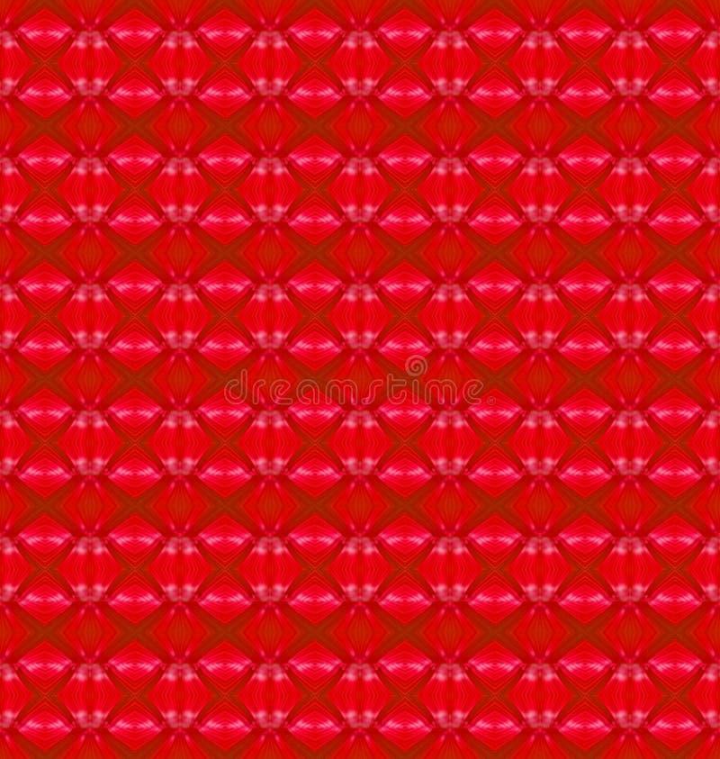 Fundo vermelho do sumário do borrão ilustração royalty free
