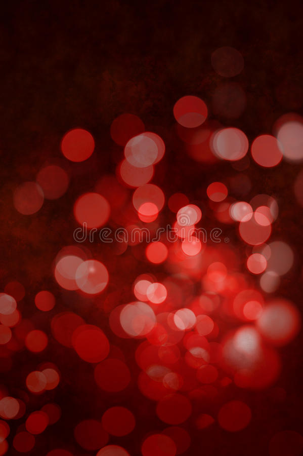 Fundo vermelho do sumário do Natal imagem de stock