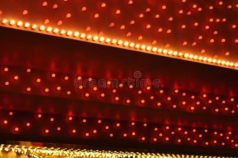 Fundo vermelho e branco do famoso foto de stock
