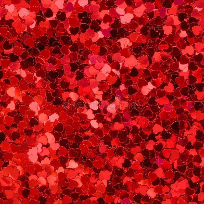 Fundo vermelho e cor-de-rosa dos corações imagem de stock