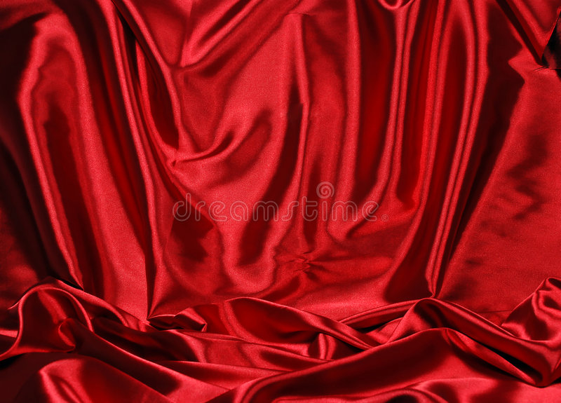 Fundo vermelho elegante do cetim fotos de stock royalty free