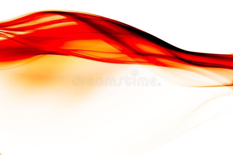 Fundo vermelho, preto e branco abstrato ilustração royalty free