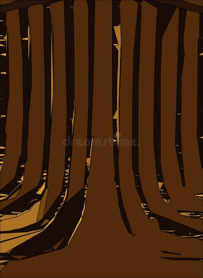 Fundo vertical abstrato ilustração stock