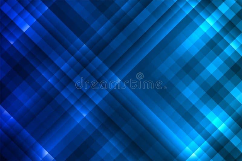 Fundo vertical quadrilateral azul foto de stock royalty free