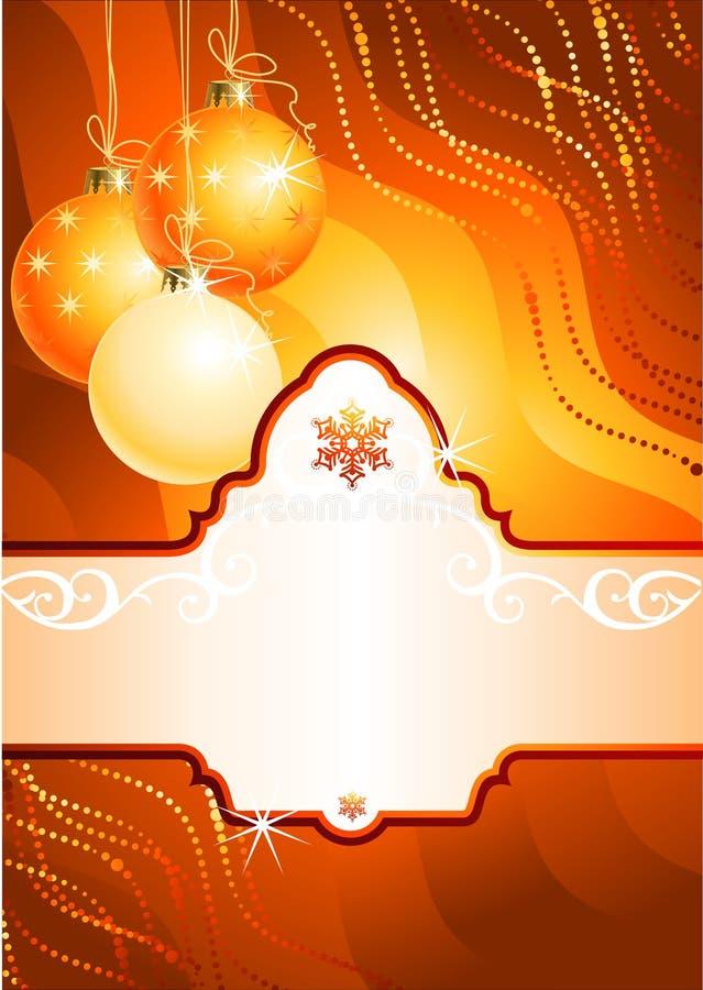 Fundo/vetor do Natal ilustração royalty free