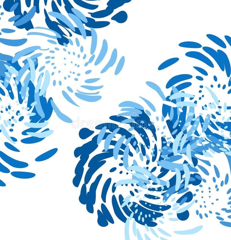 Fundo/vetor modernos abstratos ilustração royalty free