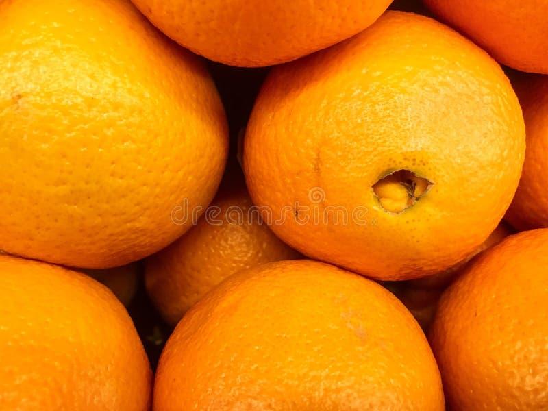 Fundo vibrante das laranjas imagens de stock