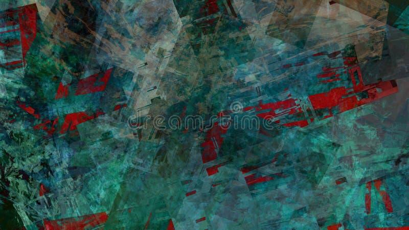 Fundo vibrante natural da paisagem do teste padrão da textura da estrutura do sumário ilustração do vetor