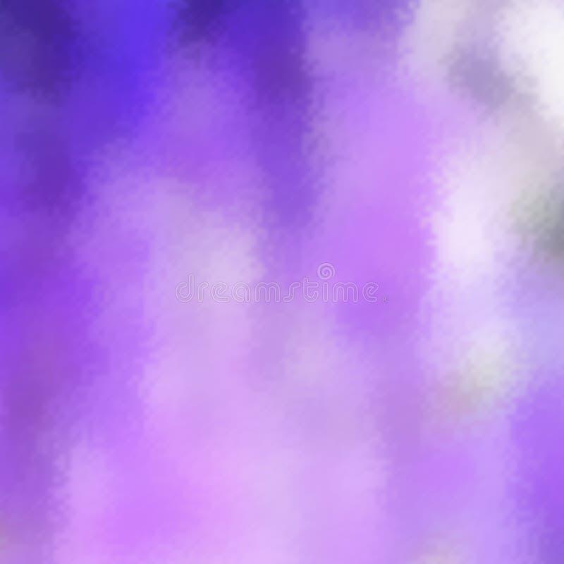Fundo violeta abstrato do inclinação da cor do borrão para a Web, as apresentações e as cópias Ilustração do vetor Efeito de vidr ilustração do vetor
