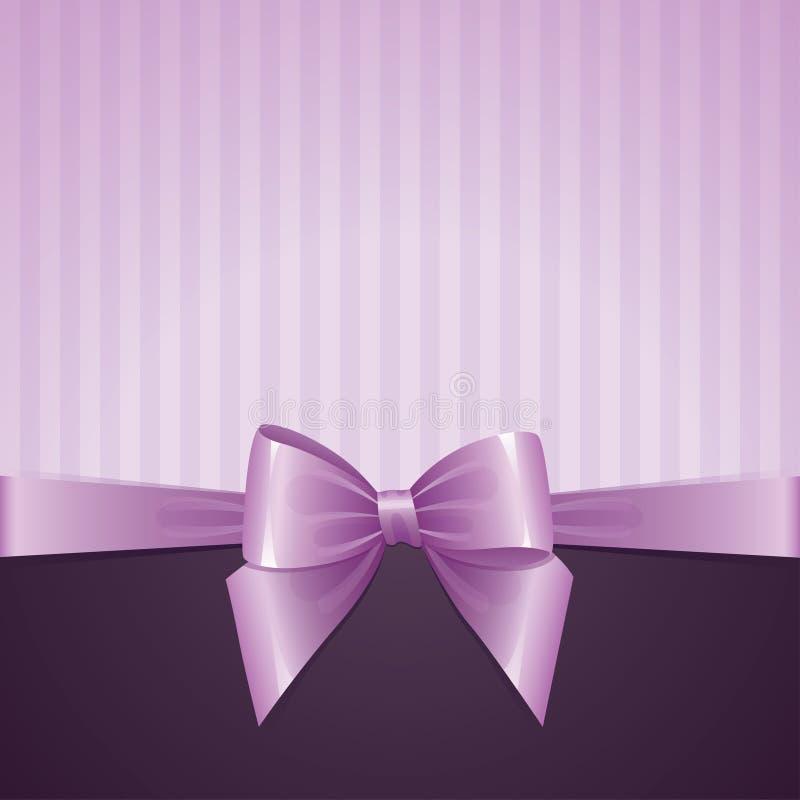 Fundo violeta com curva ilustração stock