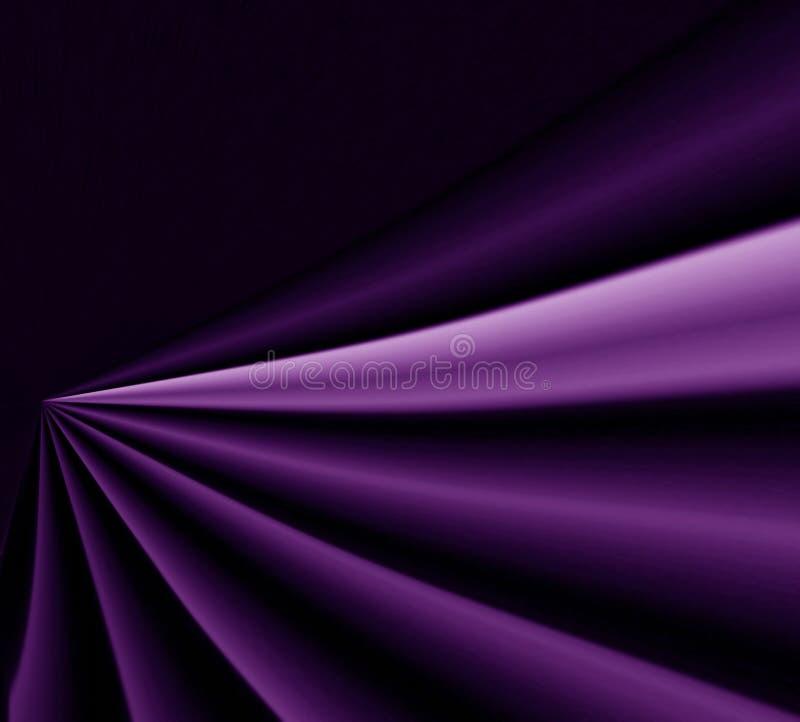 Fundo violeta do drapery ilustração royalty free