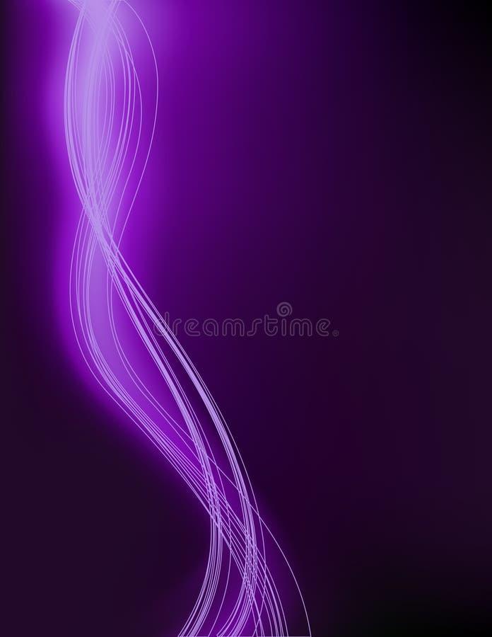 Fundo violeta do relâmpago ilustração royalty free