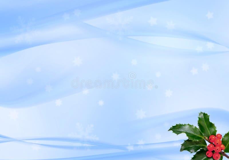 Fundo w dos flocos de neve do inverno foto de stock royalty free