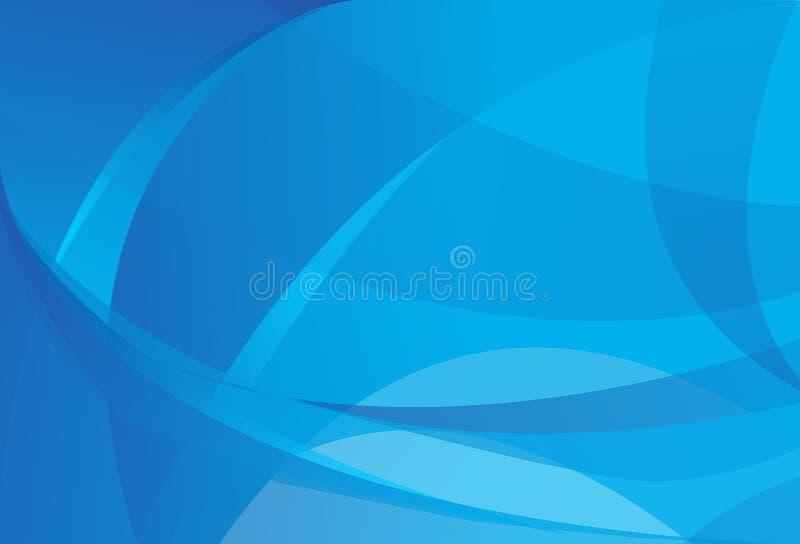 Fundos azuis abstratos ilustração stock