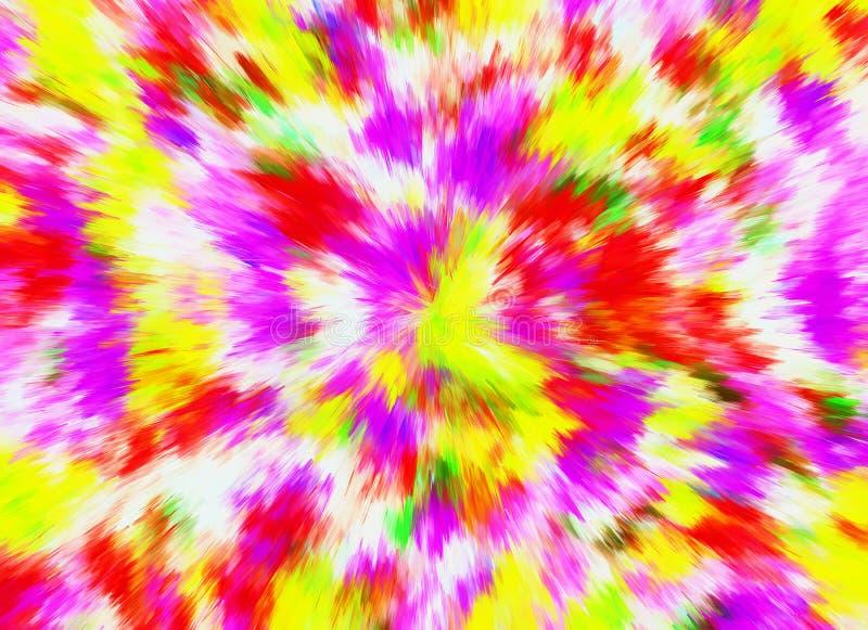 Fundos brilhantes abstratos da velocidade de explosão da cor Patt colorido ilustração do vetor