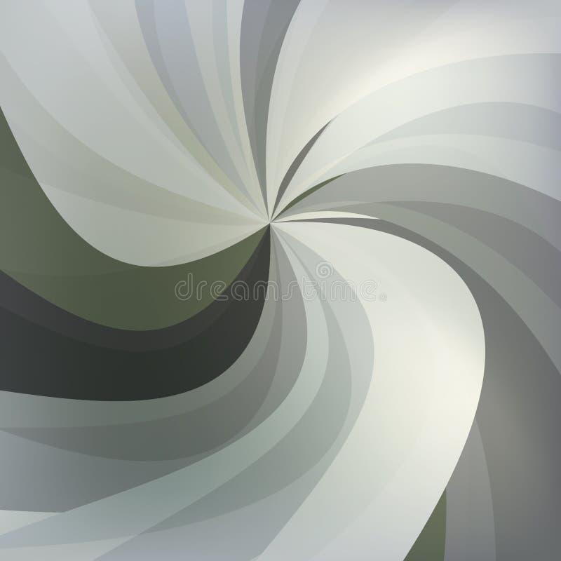 Fundos cinzentos abstratos do redemoinho imagem de stock