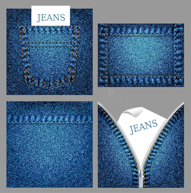 Fundos das calças de brim ilustração stock