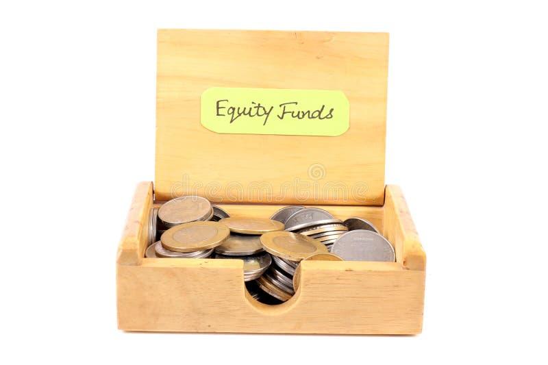 Fundos de ações imagem de stock