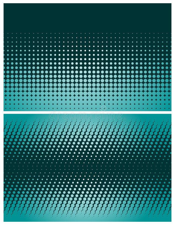 Fundos de intervalo mínimo abstratos ilustração royalty free