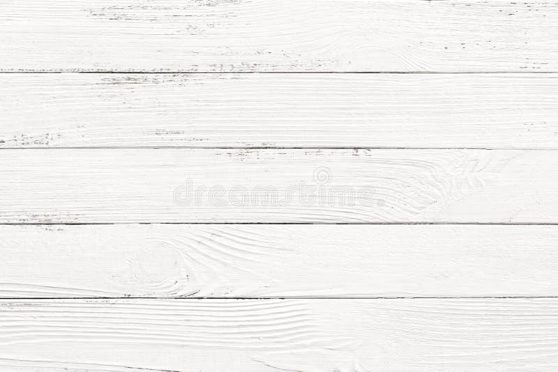 Fundos de madeira brancos da textura imagens de stock royalty free