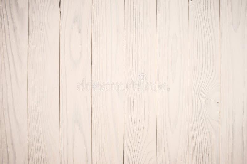 Fundos de madeira brancos da textura foto de stock royalty free