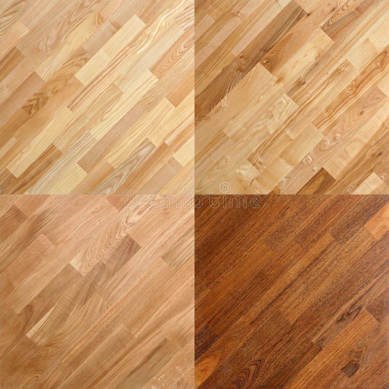 Fundos de superfície de madeira da prancha do assoalho de parquet fotos de stock royalty free