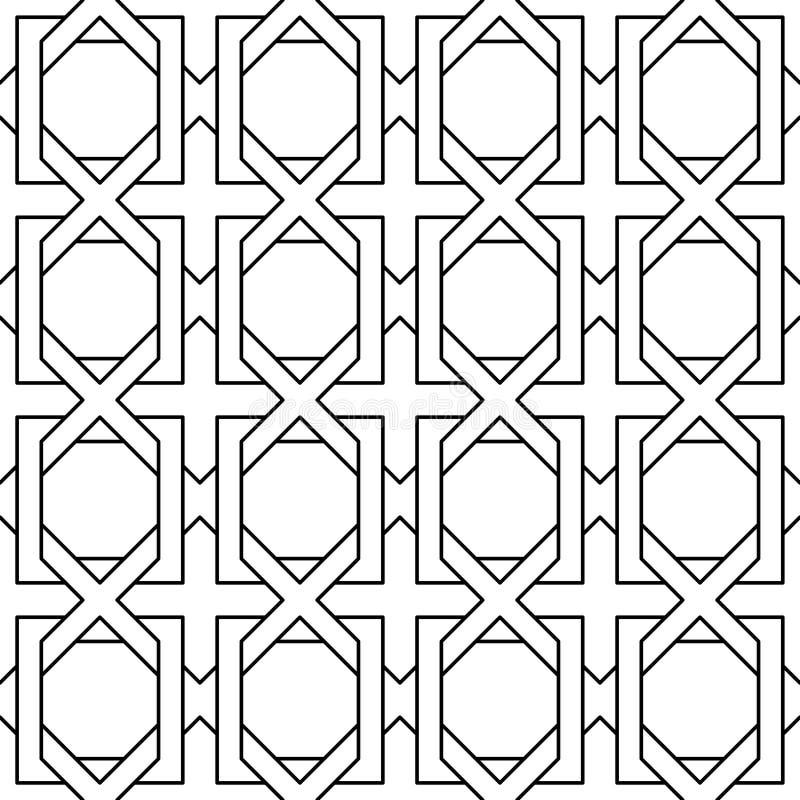 Fundos do teste padrão das geometria ilustração do vetor