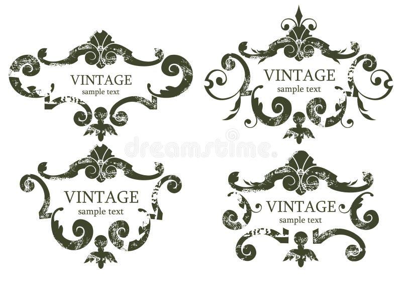 Fundos do vintage foto de stock royalty free