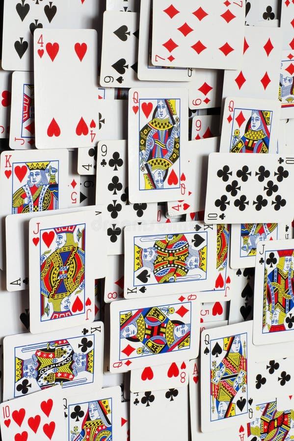 Fundos dos cartões de jogo fotos de stock royalty free