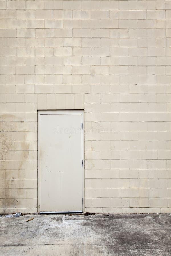 Fundos - parede urbana em branco fotos de stock