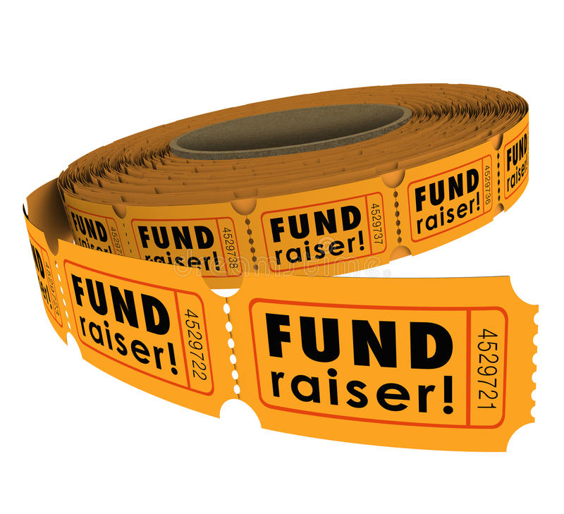 Fundraiser 50 de Gebeurtenis die van de het Broodjesliefdadigheid van het Vijftig Loterijkaartje Mon opheffen