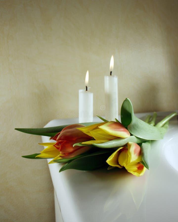 Funeral arrangement royalty free stock photo