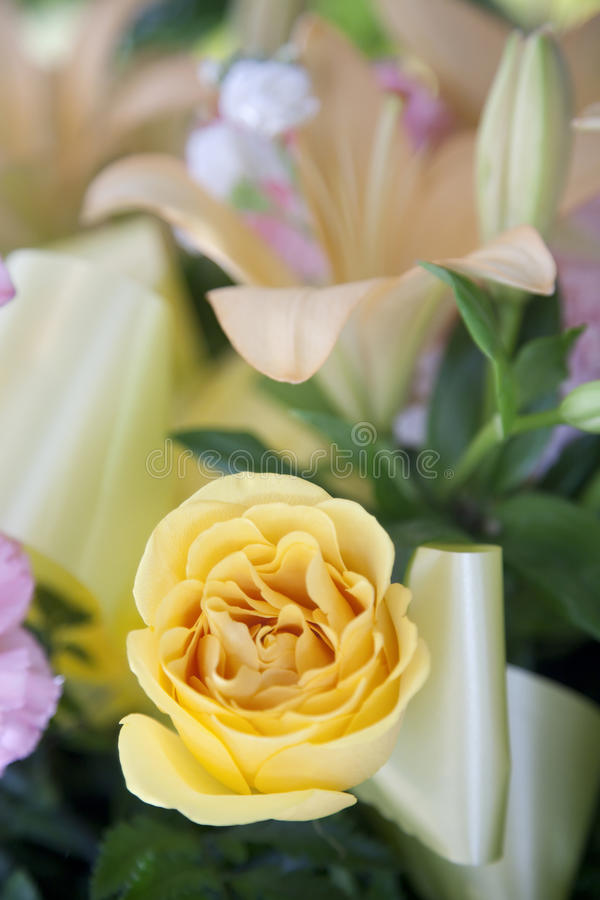 Funeral Boquet stock photo