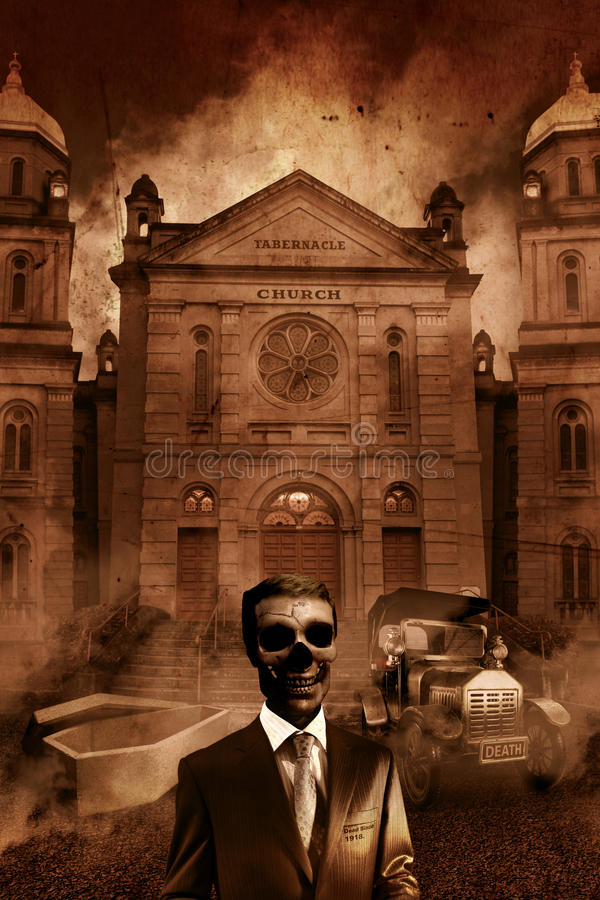 Download The Funeral Director stock image. Image of church, decaying - 14608985