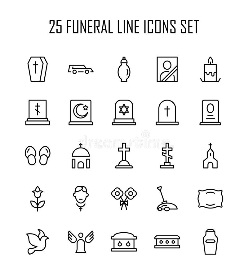Funeral Stock Illustrations – 8,585 Funeral Stock
