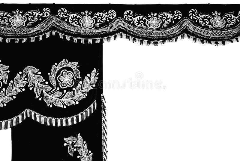 Funeral textile royalty free stock photography