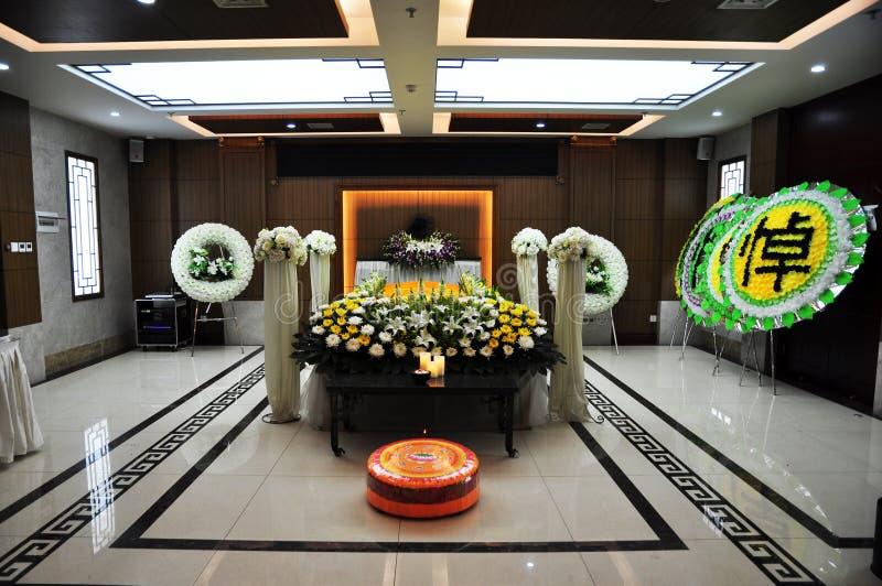Funerale cinese fotografie stock