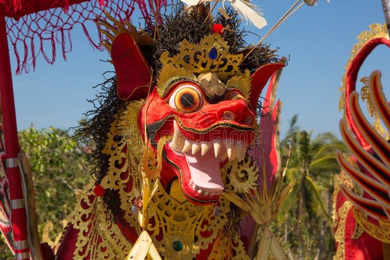Funerale indù, Sebuluh, provinz di Nusa Penida Bali, Indonesia fotografia stock
