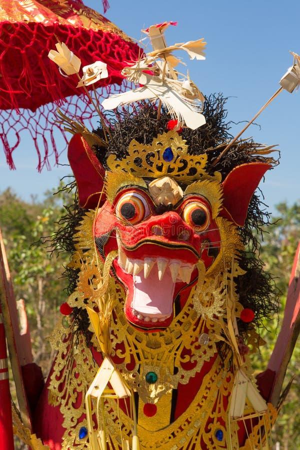 Funerale indù, Sebuluh, provinz di Nusa Penida Bali, Indonesia fotografia stock libera da diritti
