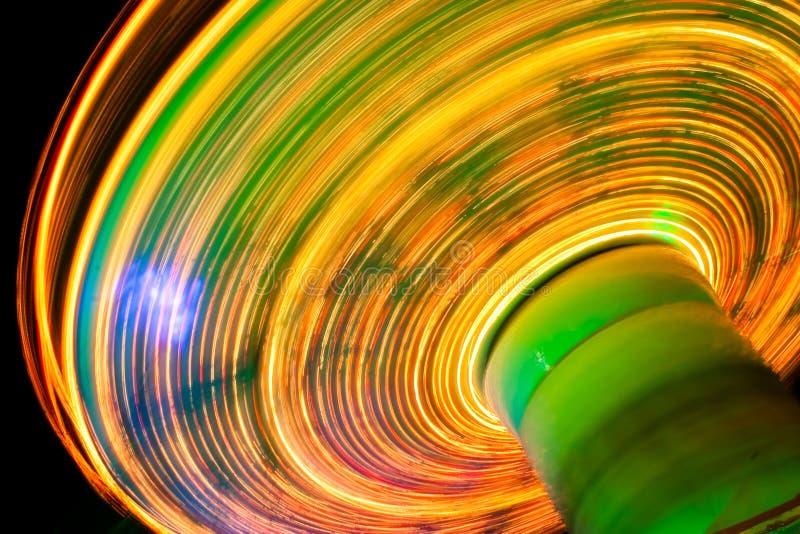 Funfair de Noël dans le grand dos de Leicester photographie stock